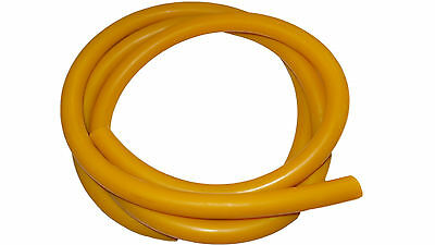 Speargun Rubber 2m x 18mm Gold Coated Amber - Spearfishing, DIY Bands