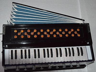 PROOF KAIL WOOD~PROFESSIONAL GRADE~HARMONIUM~ 3½OCTAVE~9 STOP~4 SHRUTI-440 Hz