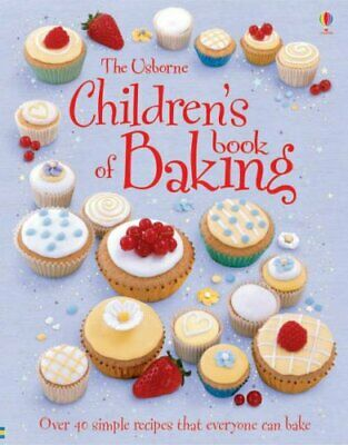 Children's Book of Baking (Usborne First Cookbooks) by Fiona Patchett Hardback