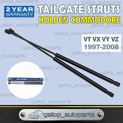 Pair for Holden Commodore Wagon Tailgate Gas Struts VT VX VY VZ Lift Support
