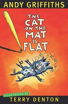 The Cat on the Mat is Flat by Andy Griffiths Paperback Book