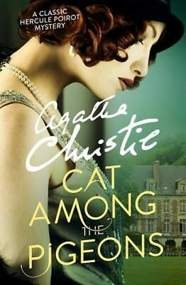 Cat Among the Pigeons by Agatha Christie Paperback Book