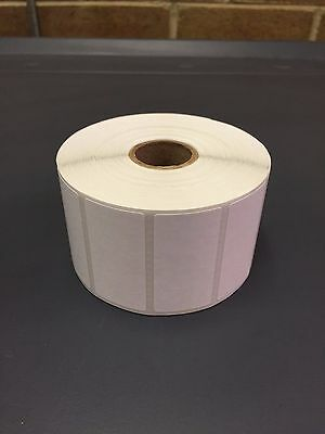"1 Roll of 2"" x 1"" Labels 1375 Direct Thermal for Zebra or Eltron Printers 1,375"