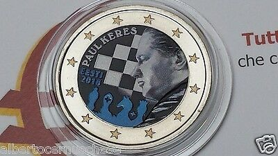 2 euro 2016 Estonia colorato color farbe couleur Estonie Estland Eesti Эстония
