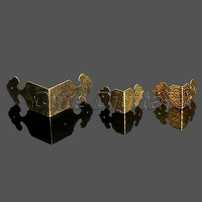 12Pcs Antique Decorative Corner Edge Protector for Jewelry Gift Box Wooden Table