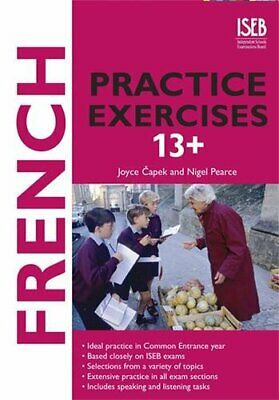 French Practice Exercises 13+ by Capek, Joyce Paperback Book The Cheap Fast Free