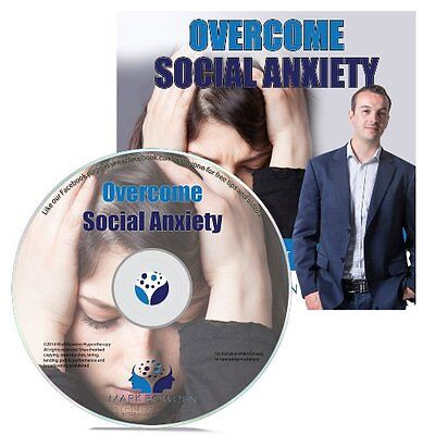 Overcome Social Anxiety Hypnosis CD + FREE MP3 VERSION start enjoying life
