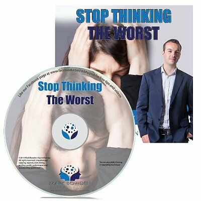 Stop Thinking the Worst Hypnosis CD + FREE MP3 VERSION negative thoughts