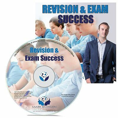 Revision and Exam Success Hypnosis CD + FREE MP3 VERSION revise effectively