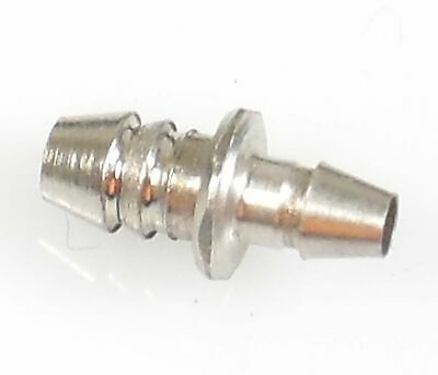Hose barb 1-16 ID to 3-32 ID tube adapter - PNEU004