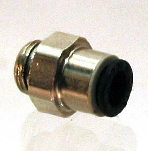 1-8 NPT Male to 6MM Push connect - FITT107 - Air Fitting