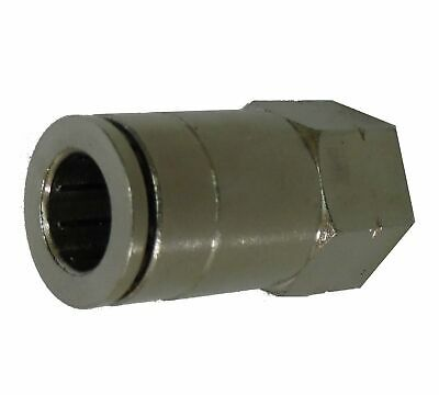 1-8  NPT Female - 8MM Slip fit - FITT131 - Air Fitting