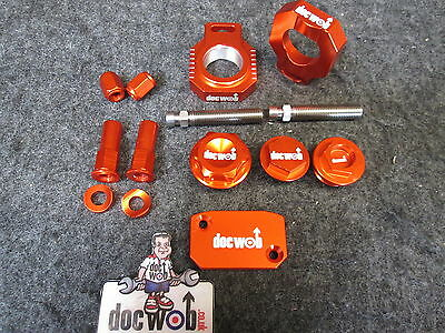Doc Wob KTM SX/SXF 125-450 2013-2015 usine alliage orange bling kit KT4788