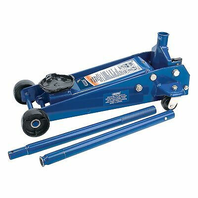 Draper Workshop 3 Tonne (3000kg) Heavy Duty Trolley Car Lifting Jack - 53089