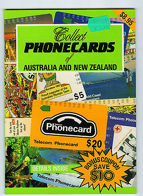 Collect Phonecards of Australia and New Zealand Book