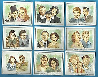 Cigarette/trade cards - FAMOUS CINEMA / FILM PARTNERS - Full mint condition set