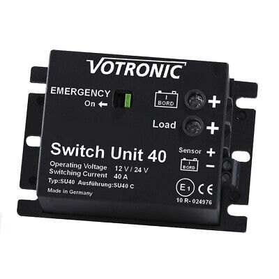 Votronic 2071 Switch Unit 40 12V / 24V Batterie Hauptschalter