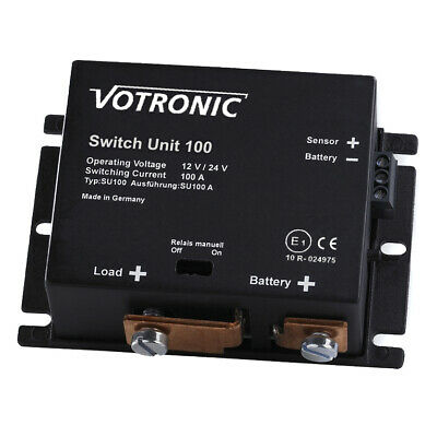 Votronic 2072 Switch Unit 100 12V / 24V Batterie Hauptschalter