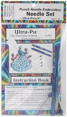 Adam Beadworks Ultra Punch Needle Set, Small/Medium/Large Crafts Painting Drawi