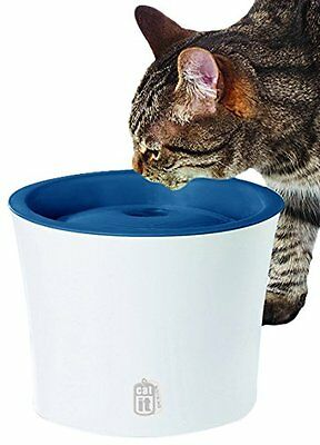 Catit Senses Water Fountain Pet Supplies Large Water-To Air Surface Maximizes N