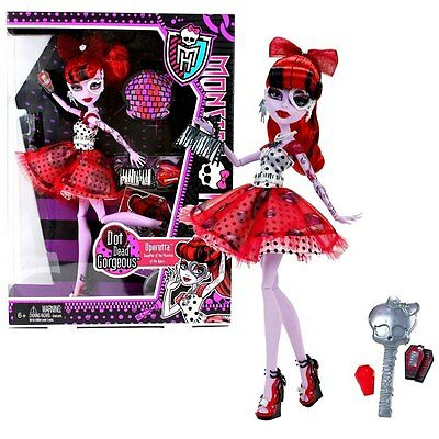 Mattel Monster High Dot Dead Gorgeous X4529 Operetta Quality Doll