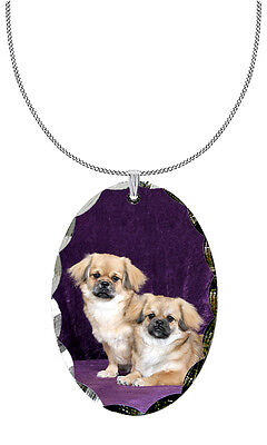 Tibetan Spaniel Pendant / Necklace