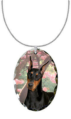 Doberman Pinscher Pendant / Necklace