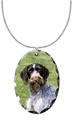 German Wirehair Pointer Pendant / Necklace