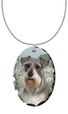 Miniature Schnauzer Pendant / Necklace