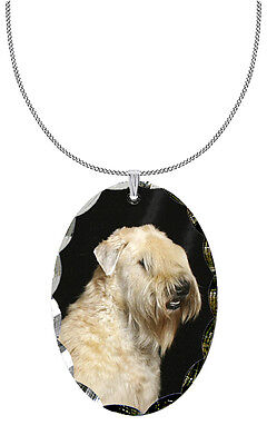 Soft Coated Wheaten Pendant / Necklace