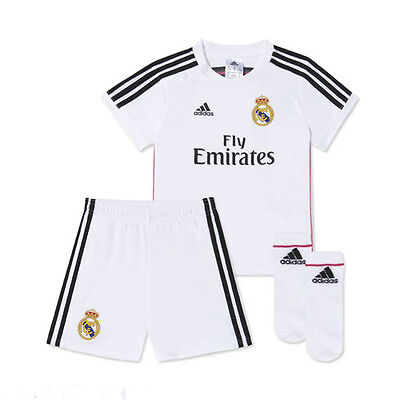 ADIDAS KIDS Real Madrid Baby Boys Toddler Suit Set F49500 - New In Box