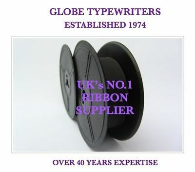 1 x 'BYRON' *PURPLE* TOP QUALITY *10 METRE* TYPEWRITER RIBBON-TWIN SPOOL+EYELETS