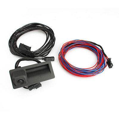 OEM Monitor Parking RVC Rear View Camera Cable Kit for RCD510 RNS510 VW RNS315