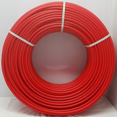 "1000' 1/2"" RED Oxygen Barrier  PEX tubing for heating and plumbing"