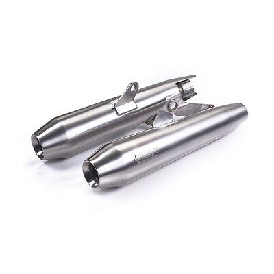 Triumph A9600518 Street Twin Street Cup Vance & Hines Brushed Slip-On Exhaust