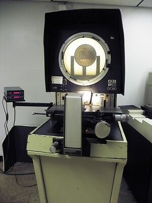 "14"" OGP Optical Gaging Products XL809 Bench Model Comparator with Stand, DRO"
