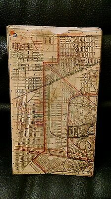 Buffalo New York Slide Map, 6 Plates, Vintage, 1901?  Pam American Expo