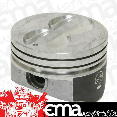 """Speed Pro Flat Top Hypereutectic Pistons Sph857Cp Std Suit 4.000"""" Bore Chev Ls2"""