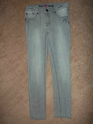 Epic Threads Jeans Size 12 Childrens Gray 26X26 1/2