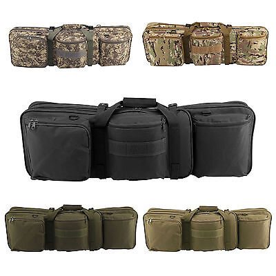 New Double Rifle Military Tactical Gun Shooting Hunting Carry Case Strap Bag
