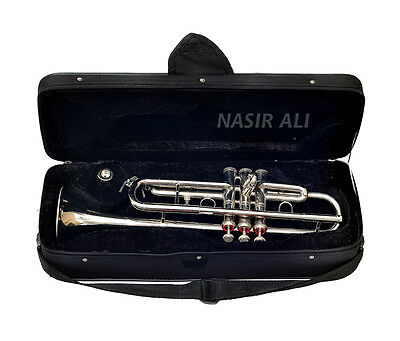 Sale Nicely Finish Proffesional Trumpet For Sale  Bb Keys Trumpet With Case