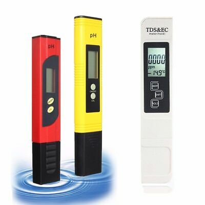 New Digital LCD PH Meter TDS EC Water PPM Filter Pool Hydroponic Tester Pen HOT