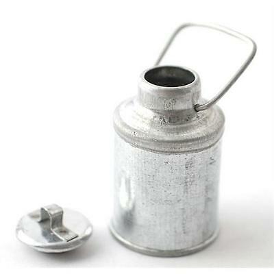 Silver Milk Churn 1:12 Scale for Dolls House