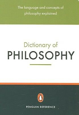 The Penguin Dictionary of Philosophy by Thomas (Ed.) Mautner Paperback Book (Eng