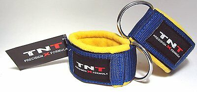 Ankle 'STRAAT' Straps for Cable Gym Machine Attachment - 1 Pair