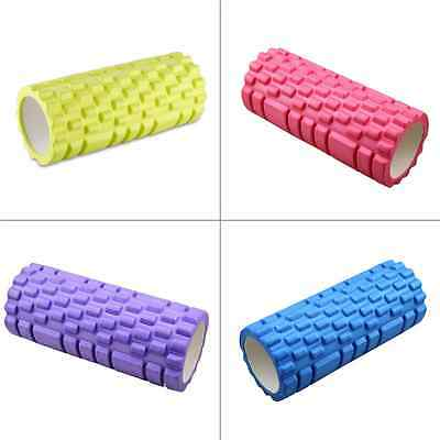 """FUNTREND24 Yoga Pilates Fitness Massage Rolle Therapie Roller """"SINA"""" 33x14 cm"""