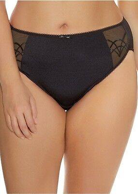 Elomi Cate Brief Knickers Pant 4035 Black, White, Latte, Red, Purple