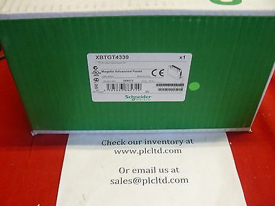 XBTGT4330 NEW FACTORY SEALED! Modicon Schneider Color Touch Panel XBT-GT4330