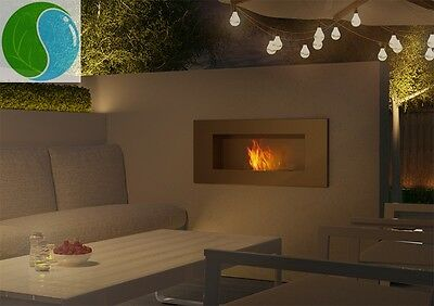 "DELTA"" bio fireplace  bio ethanol biofireplace +7gifts ALL COLORS Glass !"