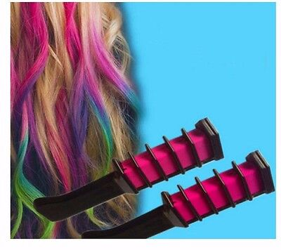 Coloring temporary Hair Color streaked dye with COMB Hair Mascara Washable